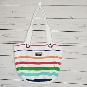 Aeropostale cotton bag bright stripes